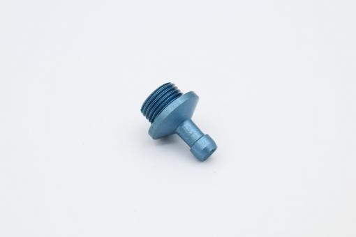 Anschluss blau für O-Ring